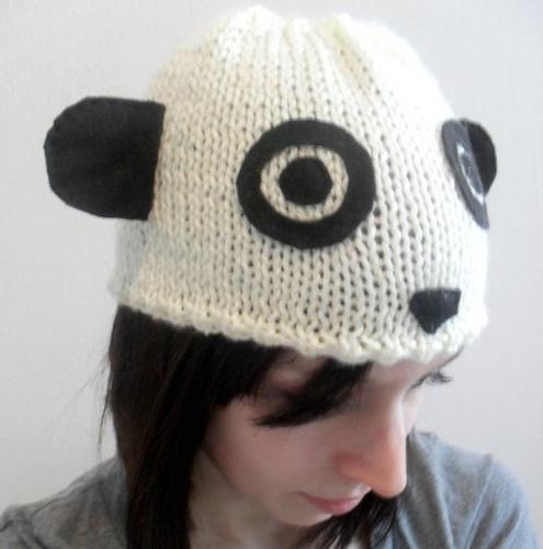 パンダ帽子