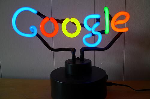 Googleネオン