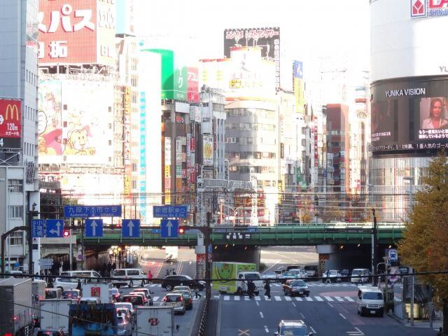新宿ガード下