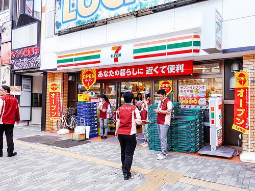 日本のセブンイレブン