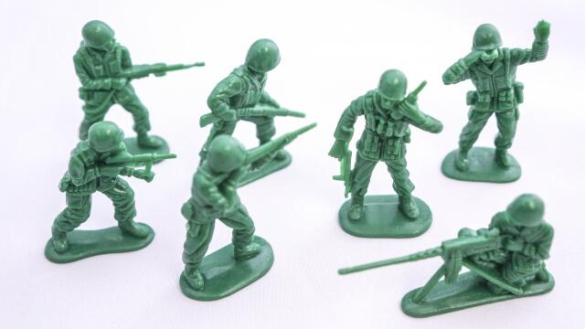 陸軍のミニフィギュア